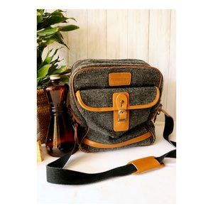 Cambridge Gray Shoulder Laptop Bag